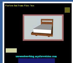 diy twin bed frame 182330 woodworking plans and projects