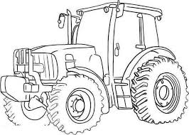 Free Tractor Coloring Pages Printable