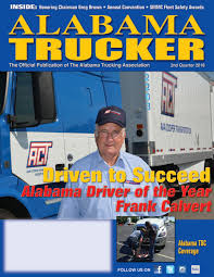 Alabama Trucker, 2nd Quarter 2016 By Alabama Trucking Association ... Mack Of Nashville Hosts Tennessee Trucking Association Event Averitt Earns Recognition From Eroad Linkedin Our Partners Bestpass Industry Links Nebraska Truck Driver Shortage Stressed By Hurricanes Newschannel 5 Dave Hunyager Appointed To Atri Board Of Directors American News Magazine Spotlights Mtcs Ceo Mike Mcmahon