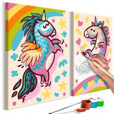Rainbow Unicorn Cherry Scented Pillow Navidad Dibujos De