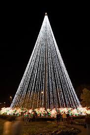 Flagpole Christmas Tree