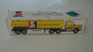 SAFETY KLEEN TOY Tanker Truck - $39.00 | PicClick Citgo 1997 Toy Tanker Truck Estatesaleexpertscom Bp 1992 Vintage With Wired Remote Control New Ebay Lot Of 2 Texaco Colctible Toys Gearbox Peterbilt Tanker 1975 1993 Mobil Collectors Series Le 14 In Original Amazoncom Amoco Silver Toys Games 2004 Hess Miniature Classic Wood Tractor Trailer Etsy Upc 089907246353 Bp Limited Edition Milk Sideview Stock Photo Image Of Truck Toys Sand Play Haba Usa 1976 Working Three Barrels In Box Inserts