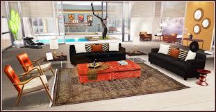 Living Room Modern Classic Furniture Large Brick Picture Frames Floor Lamps Pink Fireside