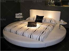 Suiying Hot Sale Bedroom Furniture Modern Round Bed A531