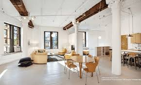 100 Lofts In Tribeca Livework Loft With An Impressive Great Room Hits The Market