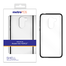 MetroPCS Alcatel A30 FIERCE SHELL Hard Case With Gel Accent