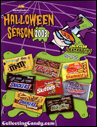 Lumpkin The Pumpkin by M U0026m Mars U0027 2003 Halloween Lineup Sales Catalog Collectingcandy Com