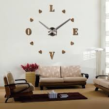 2016 wall clock quartz living room diy clocks modern design
