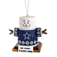 Dallas Cowboys Smores Christmas Tree Ornament