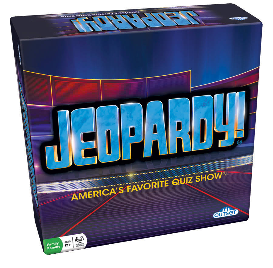 Outset Media Jeopardy! Board Game