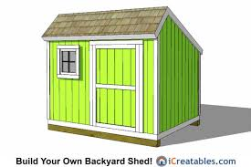 Saltbox Shed Plans 10x12 by 8x10 Saltbox Shed Plans 8x10 Shed Plans Pinterest