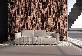 tapeten orange kupfer lachs modernes design mowade