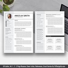Best Selling Office Word Resume / CV Templates, Cover Letter, References  For Digital Instant Download: The Angelia Resume 50 Best Cv Resume Templates Of 2018 Free For Job In Psd Word Designers Cover Template Downloads 25 Beautiful 2019 Dovethemes Top 14 To Download Also Great Selling Office Letter References For Digital Instant The Angelia Clean And Designer Psddaddycom Editable Curriculum Vitae Layout Professional Design Steven 70 Welldesigned Examples Your Inspiration 75 Connie