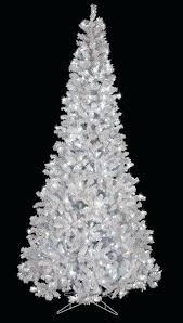 12 Ft Christmas Tree Clearance C 9 Flocked Arctic Pine With Winter White Led Lights Slim