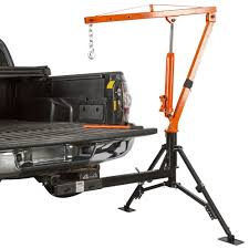 Discount Ramps: Apex Hydraulic Hitch-Mount Pickup Truck 1,000 Lb Jib ...