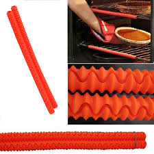 Enipate Silicone Oven Rack Edge Guards Clip Guard Baking & Pastry