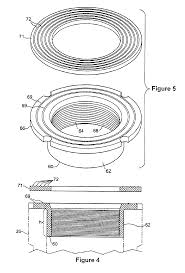 Bathtub Overflow Gasket Youtube by Patent Us6687926 Waste And Overflow Drain Adaptor Device