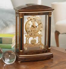 Bulova Table Clocks Wood by B2026 Valeria By Bulova Clocks