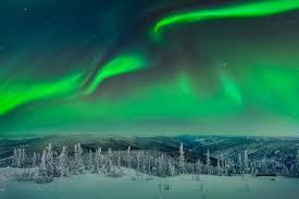 Choosing a Location to graph Aurora Borealis