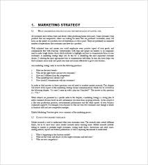 International Marketing Plan Template 9 Free Sample Example