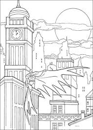 Click To See Printable Version Of Batman In Gotham City Coloring Page