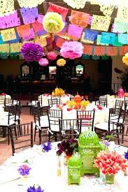 Mexican Decorations Ideas Table Decoration Fiesta Party Decorating Hosting Guide Themed Parties