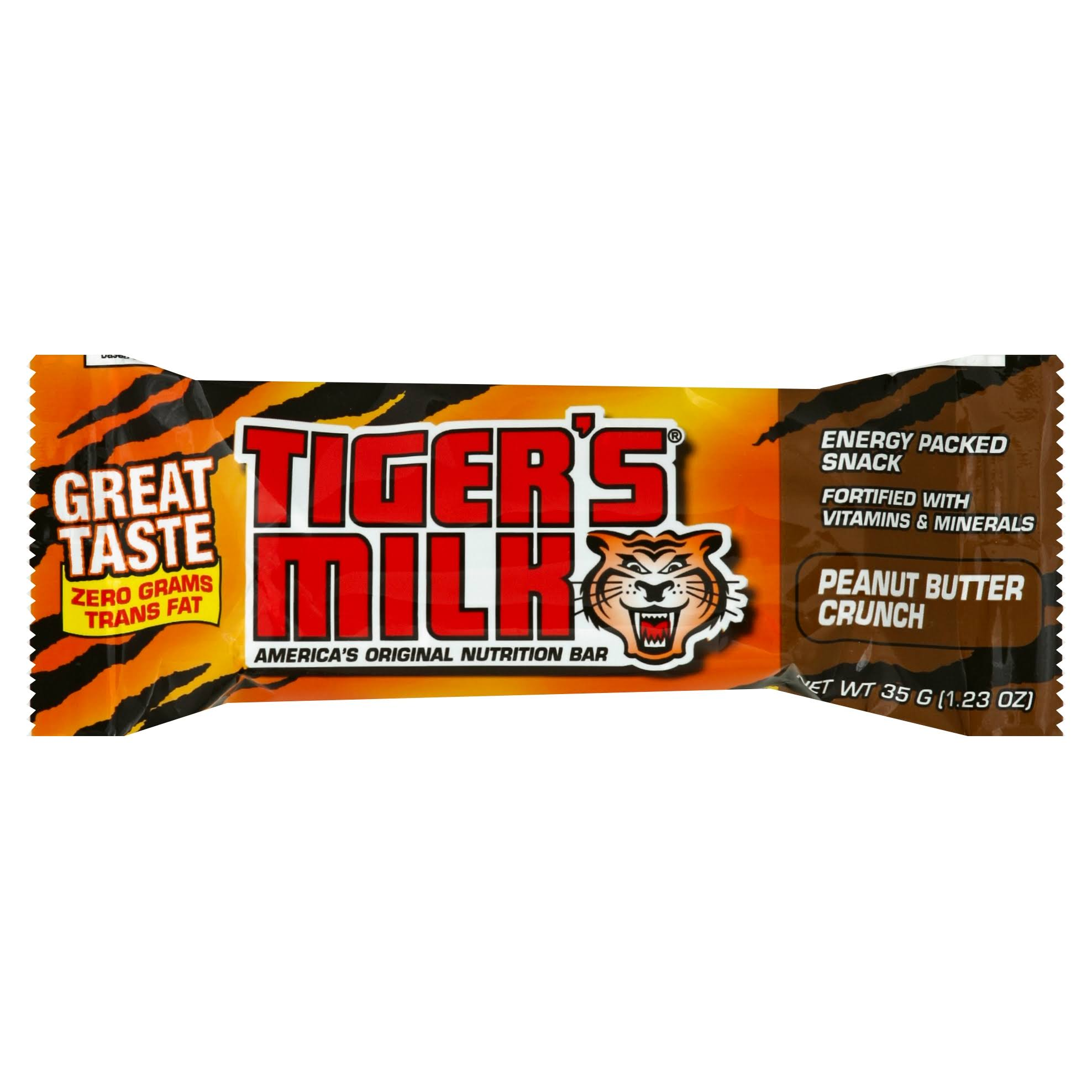 Tigers Chocolate Milk Peanut Butter Crunch Bar