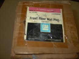 1985 - 1988 Chevrolet And GMC Pickup Floor Mat Package NOS # 999042 ...
