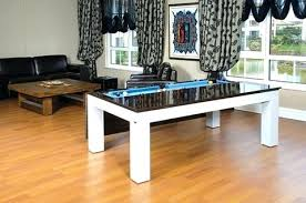 Dining Room Pool Table Combo by Pool Table With Dining Conversion Top U2013 Thelt Co
