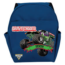 Monster Jam Grave Digger Blue Toddler Backpack | Tv's Toy Box Cheap Monster Bpack Find Deals On Line At Sacvoyage School Truck Herlitz Free Shipping Personalized Book Bag Monster Truck Uno Collection 3871284058189 Fisher Price Blaze The Machines Set Truck Metal Buckle 3871284057854 Bpacks Nickelodeon Boys And The Trucks Shop New Bright 124 Remote Control Jam Grave Digger Free Sport 3871284061172 Gataric Group Herlitz Rookie Boy Bpack Navy Orange Blue