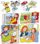 Clothing Store Clipart Graphic Km2h6m