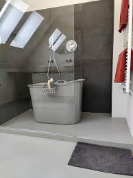 tragbare kunststoff badewanne für dusche flinq bath