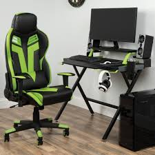 100 Wood Gaming Chair Computer Desk Wayfair