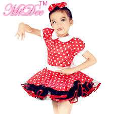 adorable red u0026 white dotted dress cute dance costume buy cute