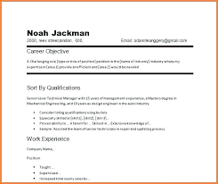 Career Objective Examples General Laborer Example Of Objectives In Resume Object For It