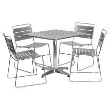 Flash Furniture 31.5 In. Square Aluminum Indoor-Outdoor Table With 4 ... Chairs And Tables The Home Of Truth Stack On Table Clipart Free Clip Art Images 21722 Kee Square Chrome Breakroom 4 Restaurant The 50 From Restoration Hdware New York Times Kobe 72w X 24d Flip Top Laminate Mobile Traing With 2 M Cherry Finish And Burgundy Lifetime 5piece Blue White Childrens Chair Set 80553 Lanzavecchia Wai Collection Includes Hamburger Tables Starsky Stack Table Rattan Of 3 45 Round Adjustable Plastic Activity School