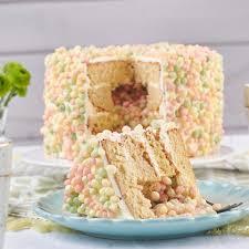 bunter inside cake