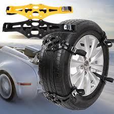 100 Truck Snow Tires 4PCS Antislip Winter Car SUV Ice Tire Chain Emergency