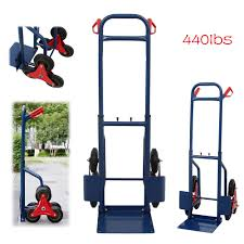 100 Hand Truck Stair Climber 440lb Climbing Moving Dolly Warehouse