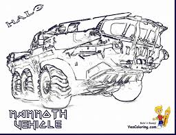 Fabulous Halo Reach Coloring Pages With Halo Coloring Pages