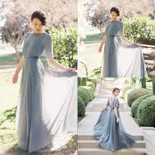 elegant beach chiffon bridesmaid dresses 2018 new maid of honor