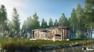 100 House In Forest In Forest Freelancers 3D