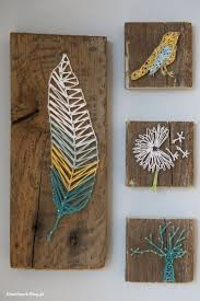 DIY String Art Ideas Tutorials For Your Home Decor Nagel Und Faden Bild Get More Details Want Great About Arts And Crafts