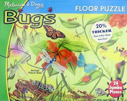 melissa doug bugs floor puzzle toy at mighty ape australia