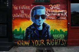 joe strummer mural the future is unwritten know you flickr