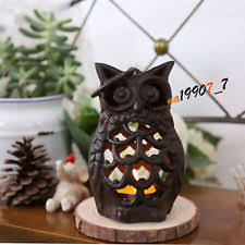 Unbranded Owl Iron Candle Holders & Accessories