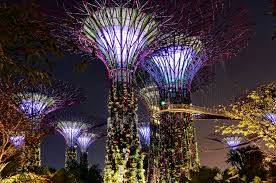 Gardens by the Bay Urban Park in Singapore Thousand Wonders