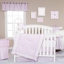 Amazon Trend Lab Orchid Bloom 3 Piece Crib Bedding Set