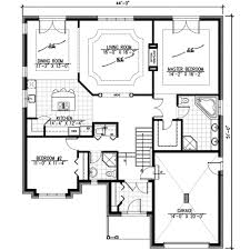 100 Www.homedesigns.com European Style House Plan 2 Beds 2 Baths 1632 SqFt Plan