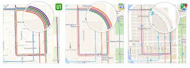 Big Ang Mural Chicago by Transit Maps Apple Vs Google Vs Us U2013 Transit U2013 Medium
